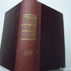 Libros antiguos: DON GONZALO GONZÁLEZ DE LA GONZALERA 1906 JOSE M DE PEREDA OBRAS COMPLETAS DE D. JOSE M. DE PEREDA. Lote 293808138