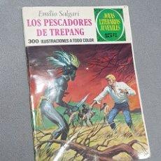 Libros antiguos: LOS PESCADORES DE TREPANG (EMILIO SALGARI). 1977. Lote 293812093