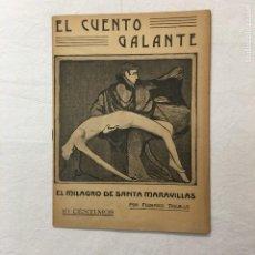 Libros antiguos: TRUJILLO. EL MILAGRO DE SANTA MARAVILLAS. EL CUENTO GALANTE. AÑO I. 25 DE SEPTIEMBRE DE 1913. Nº 25.. Lote 293827163