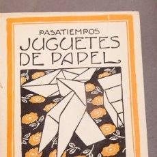 Libros antiguos: PASATIEMPOS EDITORIAL MUNTAÑOLA - 12 NÚMEROS. Lote 293865528