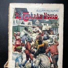 Libros antiguos: EL TULIPAN NEGRO. ALEJANDRO DUMAS. EDITORIAL RAMON SOPENA. BARCELONA, 1936. PAGS: 352. Lote 293913828