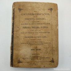 Libros antiguos: EL COCINERO ESPAÑOL Y LA PERFECTA COCINERA. GUILLERMO MOYANO. 2ª ED. 1873. PAGS. 317.. Lote 294573193