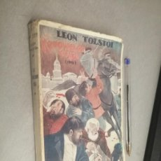 Libros antiguos: LA REVOLUCIÓN RUSA, SU SIGNIFICACIÓN Y ALCANCE / LEON TOLSTOI / ANTONIO LÓPEZ EDITOR SIN FECHAR. Lote 294941468
