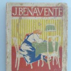 Libros antiguos: JACINTO BENAVENTE // CARTAS DE MUJERES // CUBIERTA DE JUNYENT // ILUSTRA CAPUZ // PRIMERA EDICIÓN. Lote 294946243