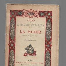 Libros antiguos: LA MUJER SEVERO CATALINA ED. HIJOS DE TELLO 1914. Lote 295027813