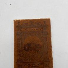 Libros antiguos: REAL PALACIO DE MADRID. EL ARTE EN ESPAÑA Nº 4. CONDE DE LAS NAVAS. HIJOS DE J. THOMAS. BARCELONA.. Lote 295418963
