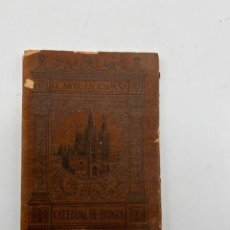 Libros antiguos: CATEDRAL DE BURGOS. EL ARTE EN ESPAÑA Nº 1. VICENTE LAMPEREZ. HIJOS DE J. THOMAS. BARCELONA.. Lote 295419298