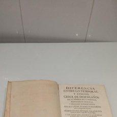 Libros antiguos: DIFERENCIA ENTRE LO TEMPORAL Y ETERNO. NIEREMBERG. Lote 295627113