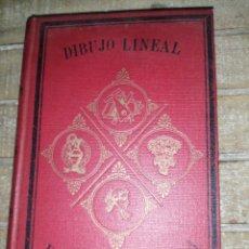 Libros antiguos: DIBUJO LINEAL POR D. ANDRÉS GIRÓ, DUODÉCIMA EDICIÓN 1921. Lote 295752853