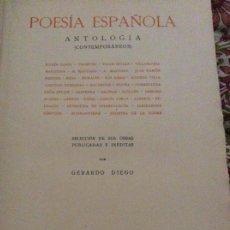 Libros antiguos: POESÍA ESPAÑOLA 1934. Lote 296762258