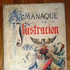 Libros antiguos: ALMANAQUE DE LA ILUSTRACIÓN PARA EL AÑO DE 1888. AÑO XV / ESCRITO POR LOS SEÑORES BECERRO DE BENGOA. Lote 297082558