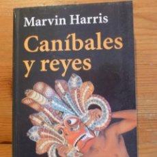 Libros: CANIBALELS Y REYES. MARVIN HARRIS. ALIANZA EWD. 2001 300 PAG. Lote 47958880