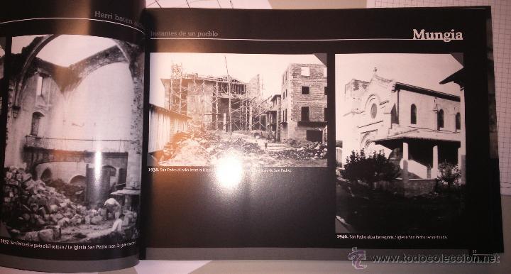 Libros: Libro Instantes de un pueblo Mungia recopilación de fotografía histórica - Foto 2 - 78076845