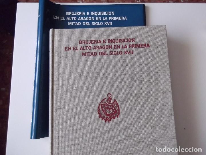 Libros: BRUJERIA E INQUISICION EN EL ALTO ARAGON EN LA PRIMERA MITAD DEL SIGLO XVII - Foto 2 - 90346768