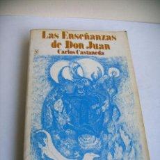 Libros: LAS ENSEÑANZAS DE DON JUAN. Lote 97649947