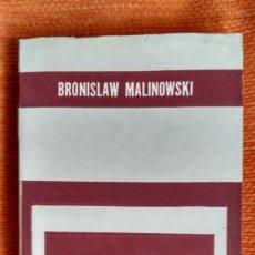 Libros: ESTUDIOS DE PSICOLOGÍA PRIMITIVA. B.MALINOWSKI. ED.PAIDÓS.1963.. Lote 107319231