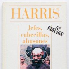 Libros: JEFES, CABECILLAS, ABUSONES- HARRIS- ALIANZA CIEN. Lote 107860235