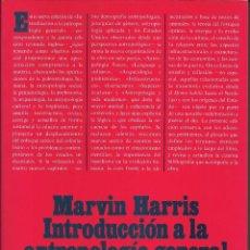 Libros: INTRODUCCIÓN A LA ANTROPOLOGÍA GENERAL. Lote 110825991
