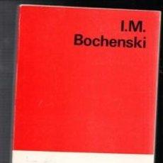 Libros: LOS MÉTODOS ACTUALES DEL PENSAMIENTO, I.M. BOCHENSKI. Lote 111359418