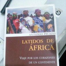 Libros: LATIDOS DE ÁFRICA, ANTONIO PICAZO, DESNIVEL EDICIONES.. Lote 117652127