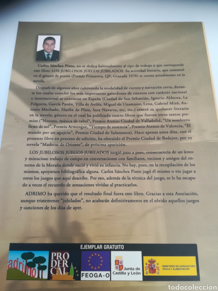 Libros: Los Jubiloso Juegos jubilados, una evocación lúdica de la Moraña, Ávila - Foto 2 - 129538271