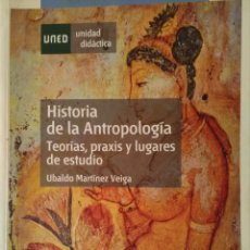 Libros: HISTORIA DE LA ANTROPOLOGÍA. - MARTÍNEZ VEIGA.. Lote 134598510