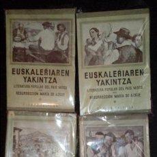 Libros: RESURRECCIÓN MARIA DE AZKUE. EUSKALERRIAREN YAKINTZA.. Lote 136849578
