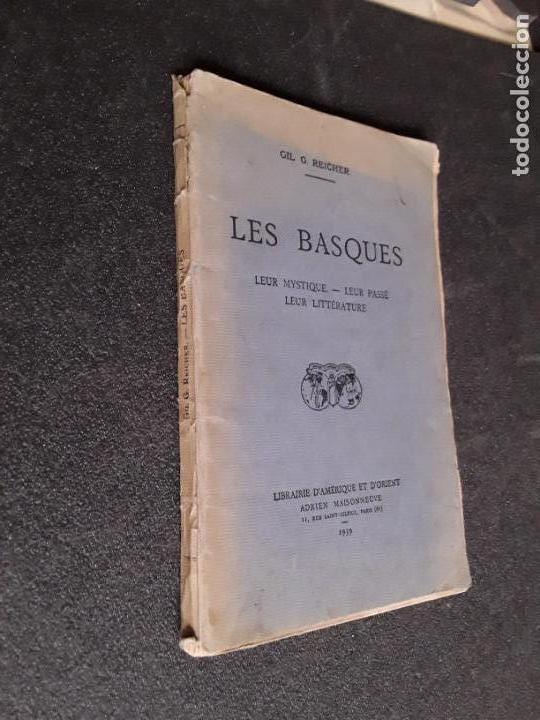 Libros: Reicher. Les Basques. Su pasado, su mística, su literatura. Buen ensayo. - Foto 5 - 144315514