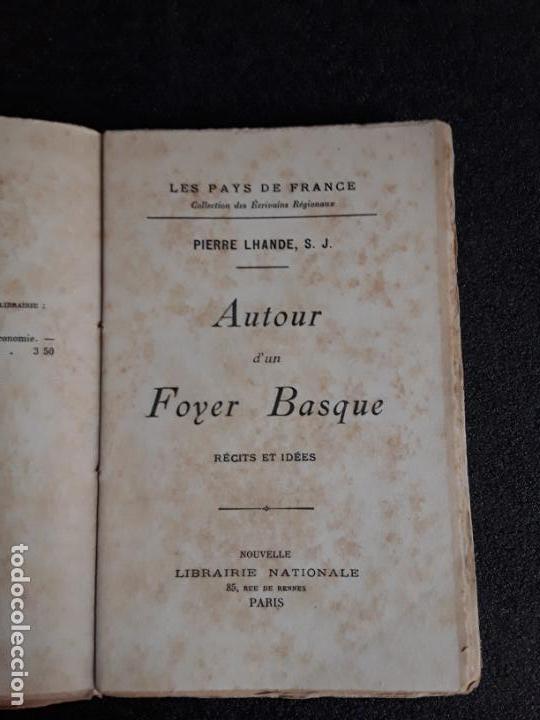 Libros: Estudio del ideario y de la realidad vasca a principios del siglo XX. Pierre Lhande. - Foto 2 - 144319678