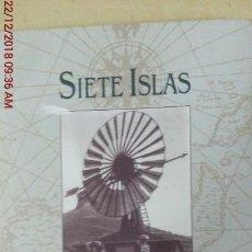Libros: SIETE ISLAS - VARIOS. Lote 144542418