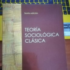 Libros: TEORÍA SOCIOLÓGICA CLÁSICA Y EL SUICIDIO. Lote 145622498