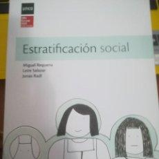 Libros: ESTRATIFICACIÓN SOCIAL. Lote 145624130