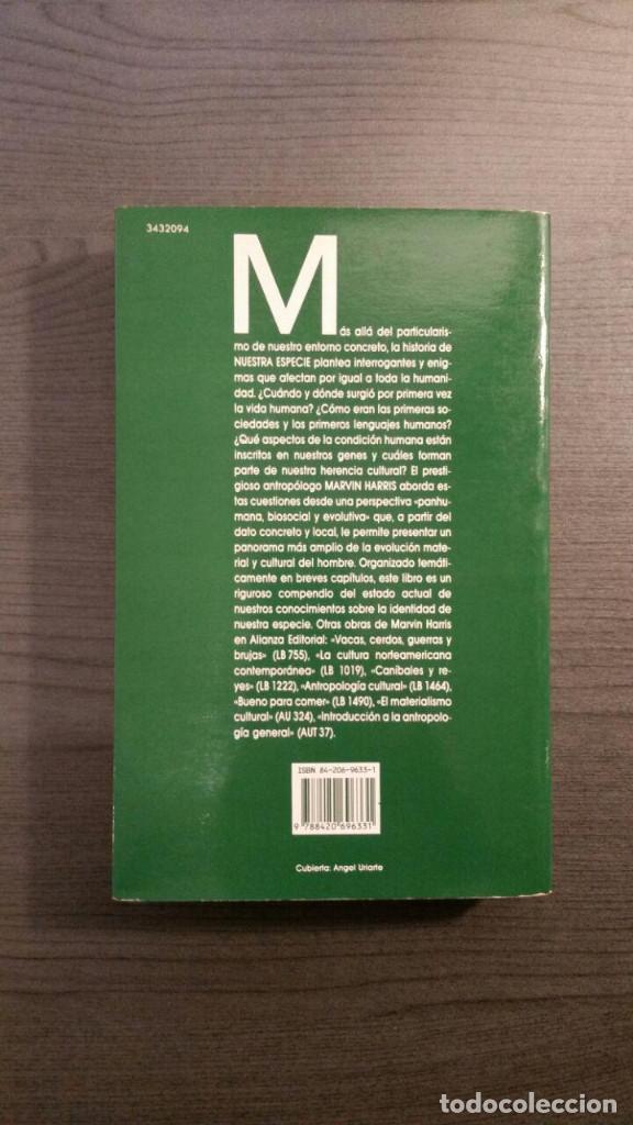 Libros: Marvin Harris Nuestra Especie - Foto 5 - 148685982