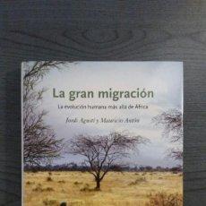 Libros: LA GRAN MIGRACION. Lote 148856566
