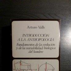 Libros: INTRODUCCIÓN A LA ANTROPOLOGÍA. Lote 150663770