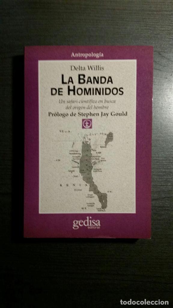LA BANDA DE LOS HOMÍNIDOS (Libros Nuevos - Humanidades - Antropología)