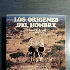 Libros: LOS ORÍGENES DEL HOMBRE - RICHARD E. LEAKEY / ROGER LEWIN. Lote 151873102