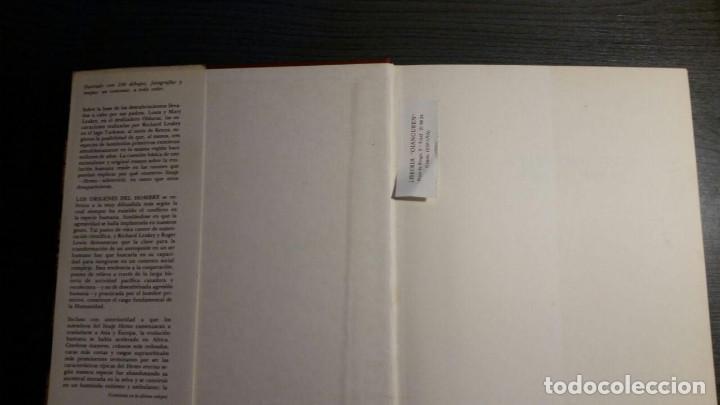 Libros: LOS ORÍGENES DEL HOMBRE - RICHARD E. LEAKEY / ROGER LEWIN - Foto 6 - 151873102
