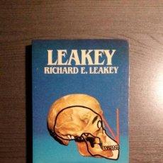 Libros: BIBLIOTECA SALVAT DE GRANDES BIOGRAFIAS : RICHARD E. LEAKEY. Lote 154041254