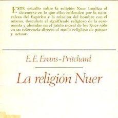 Libros: LA RELIGIÓN NUER. Lote 159402958