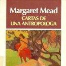 Libros: CARTAS DE UNA ANTROPÓLOGA. Lote 159419178
