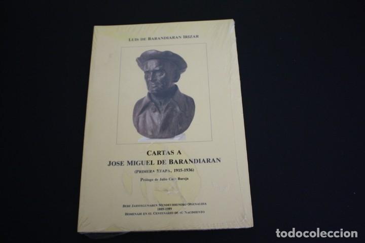 CARTAS A JOSÉ MIGUEL DE BARANDIARAN (Libros Nuevos - Humanidades - Antropología)