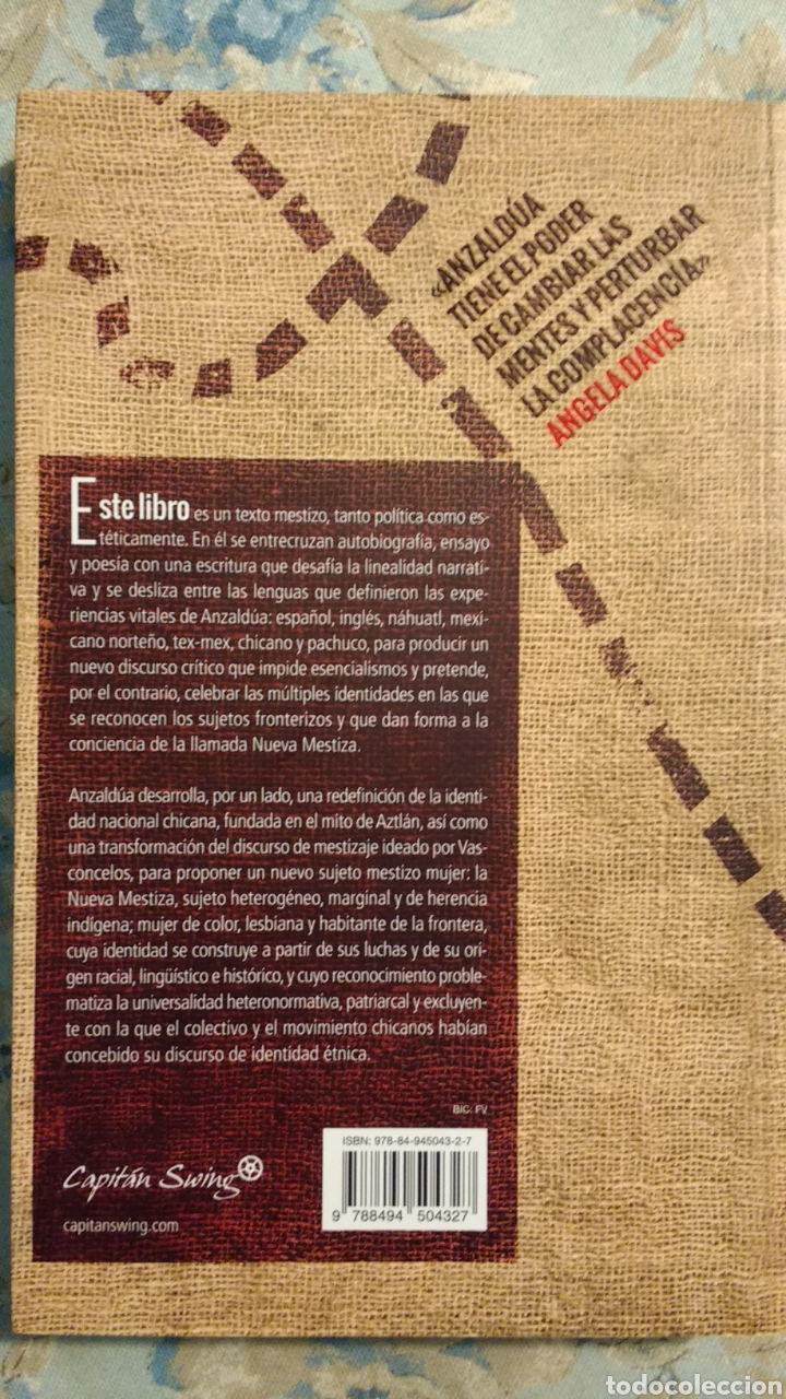 Libros: Borderlands. La frontera, de Gloria Anzaldua - Foto 2 - 167547132