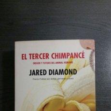 Libros: EL TERCER CHIMPANCÉ. JARED DIAMOND. Lote 172374000