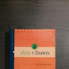 Libros: ADÁN Y DARWIN. QUEROL . SINTESIS. Lote 172794762