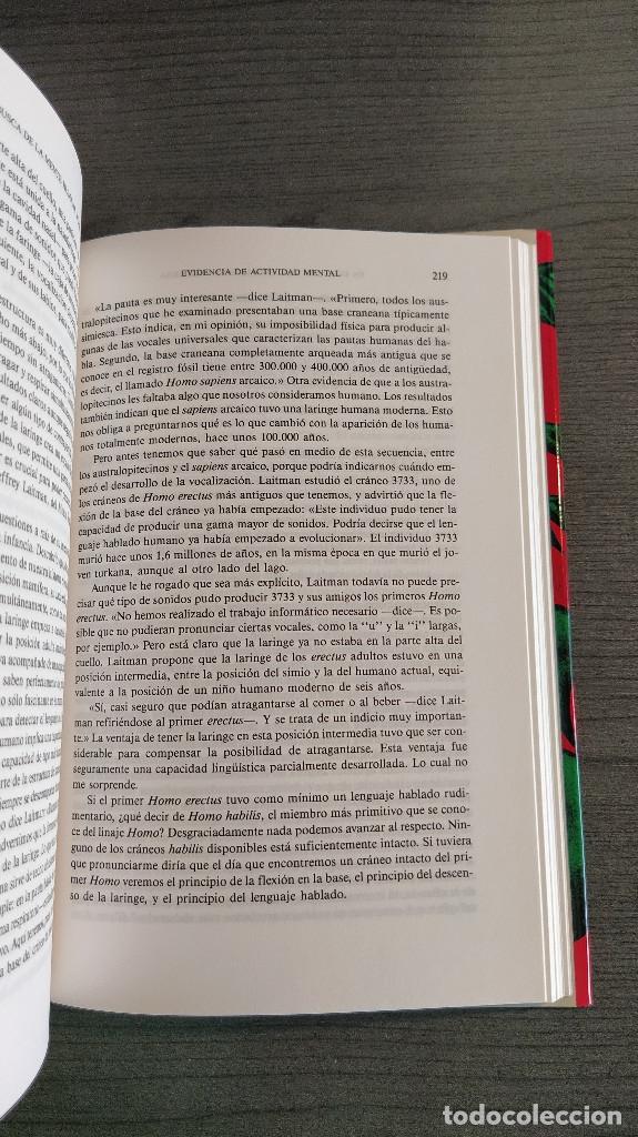 Libros: NUESTROS ORIGENES. RICHARD LEAKEY / ROGER LEWIN CRITICA - Foto 5 - 173865309