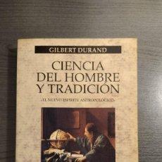 Libros: CIENCIA DEL HOMBRE Y TRADICION: EL NUEVO ESPIRITU ANTROPOLOGICO. GILBERT DURAND. PAIDOS.. Lote 176926260