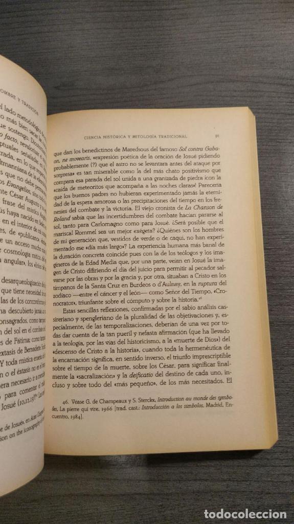Libros: CIENCIA DEL HOMBRE Y TRADICION: EL NUEVO ESPIRITU ANTROPOLOGICO. GILBERT DURAND. Paidos. - Foto 8 - 176926260