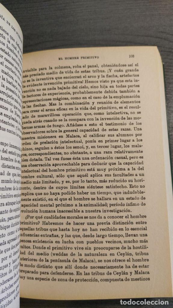 Libros: ELEMENTOS DE PSICOLOGIA DE LOS PUEBLOS. WILHELM WUNDT. - Foto 4 - 177057070