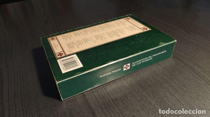 Libros: ELEMENTOS DE PSICOLOGIA DE LOS PUEBLOS. WILHELM WUNDT. - Foto 7 - 177057070